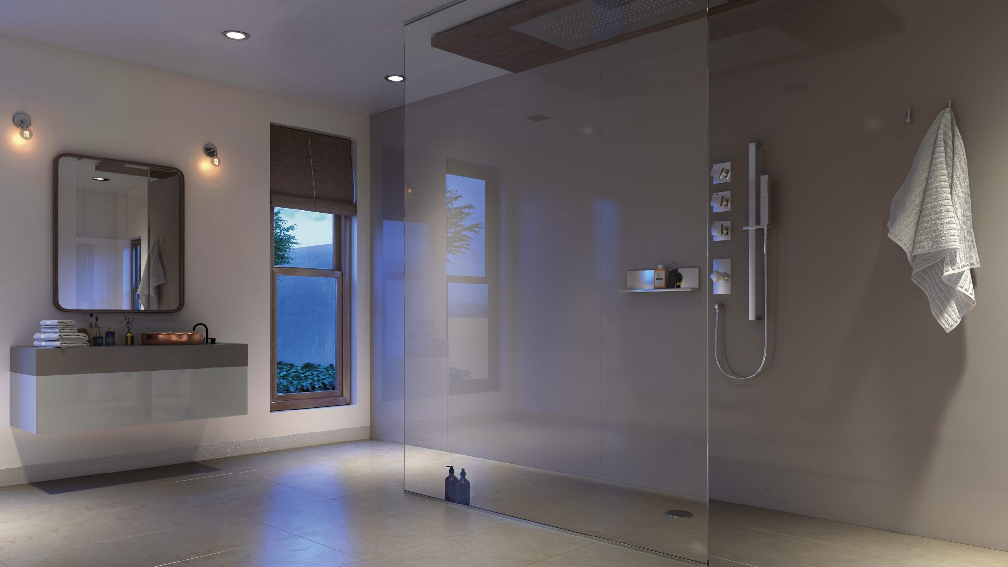 A quick and easy alternative to tiling your bathroom, Showerwall offers a hygienic, fuss-free installation, hassle-free panelling for your bathroom, which is cost-effective for those looking to renovate modern and traditional spaces on a budget. For bathroom tiling ideas to save money, click through to read more.