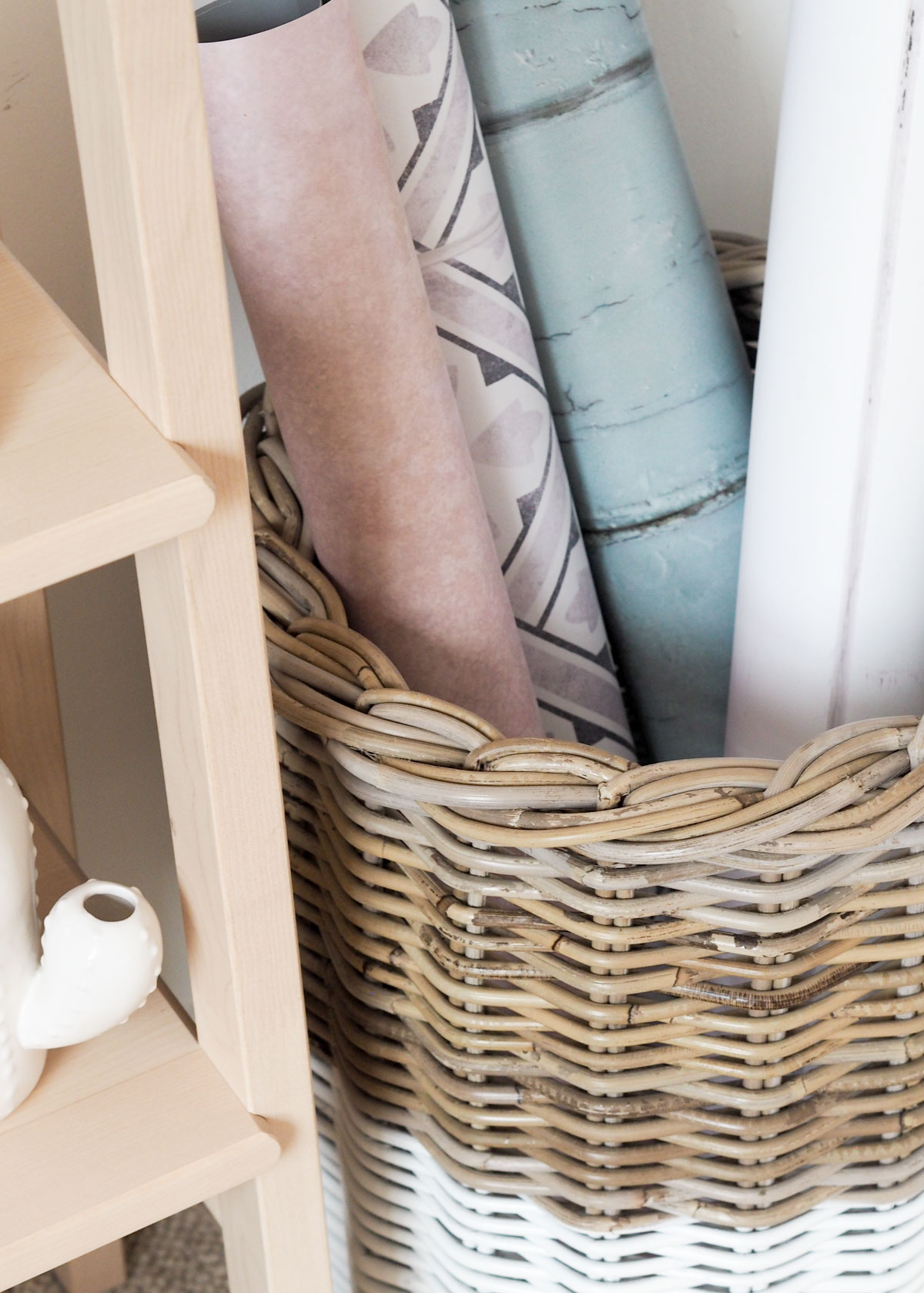 Today I'm sharing how I use rattan storage baskets in my home to keep it looking organised and stylish in partnership with The Basket Company