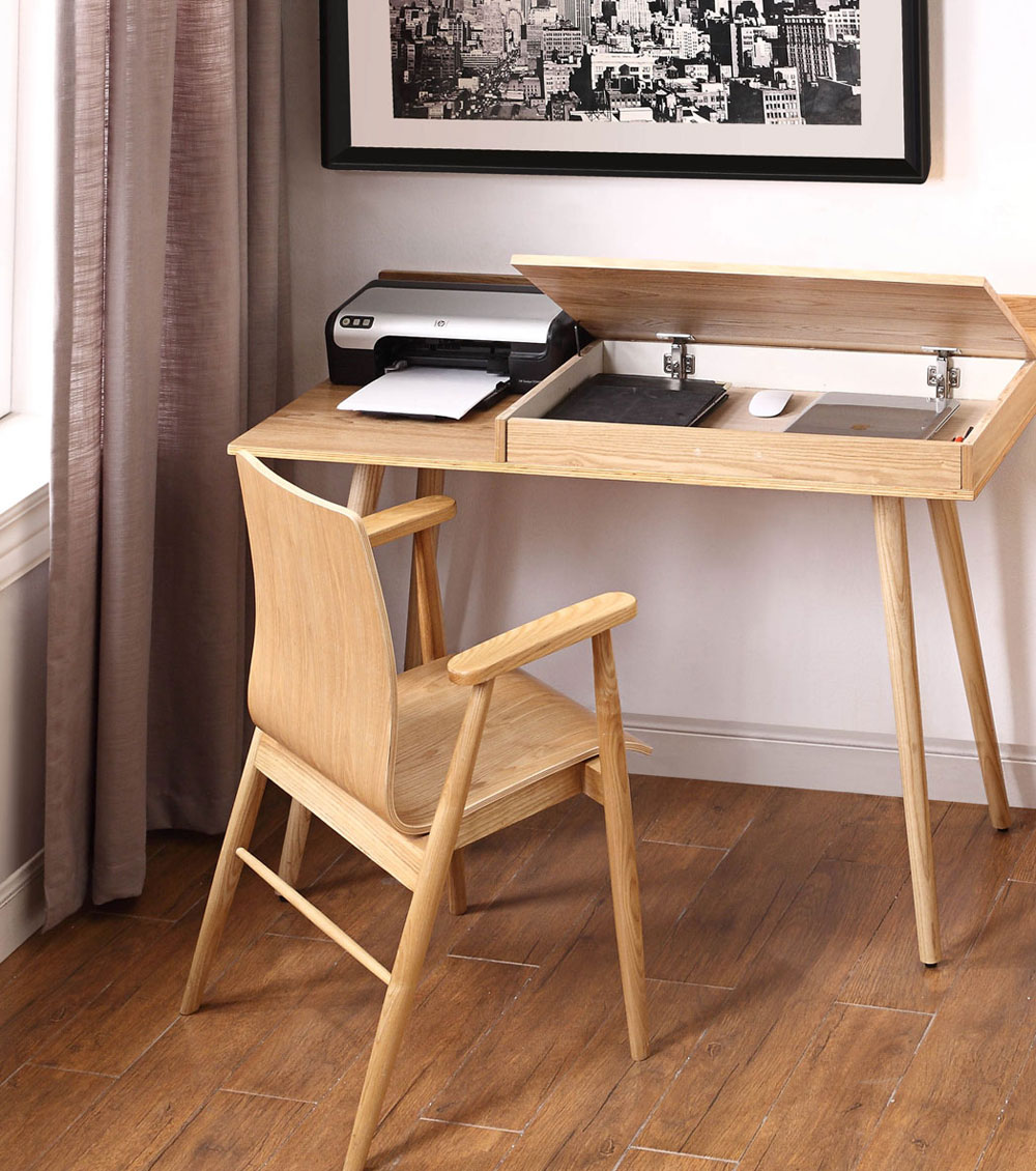 Discover How To Create A Home Office With Limited E In Your Small Apartment From