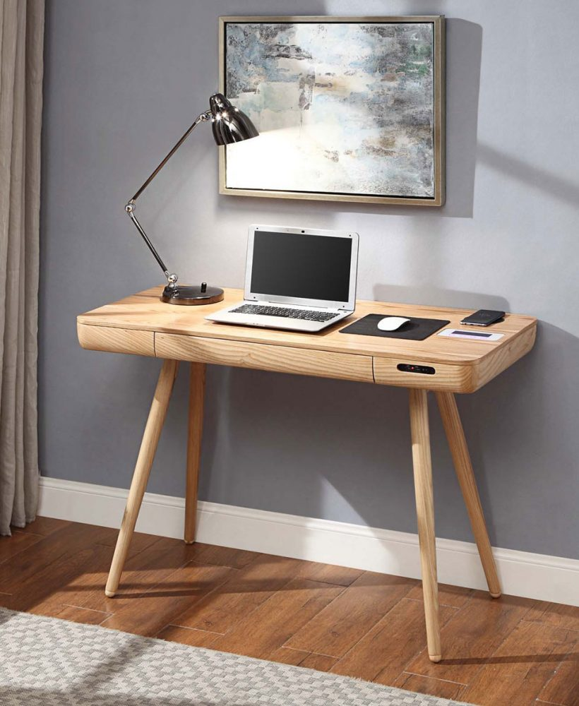 Discover how to create a home office with limited space in your small apartment, from small home office design ideas to space-saving furniture. This post features ideas on creating a workspace in an open-plan living room diner kitchen, to maximising space in your dorm room or parents house. Click through from inspiration, storage ideas, organization ideas for small offices and study layout designs #homeoffice #homeofficeideas #homeofficedesign #homeofficeideasforwomen