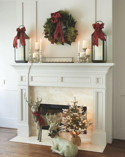 ideas on how to decorate your mantelpiece for christmas