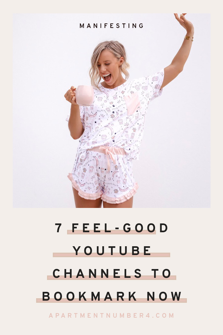 If you're looking for new feel-good YouTube content creators to follow, then this post is a must-read. From Sarah's Day to Erin May Henry and MuchelleB, I'm sharing seven female YouTuber's who create wellness, manifestation, lifestyle content that is guaranteed to relax, inspire and spark ideas for your business and goals. Click through to discover the complete list...#youtube #manifestation #wellness