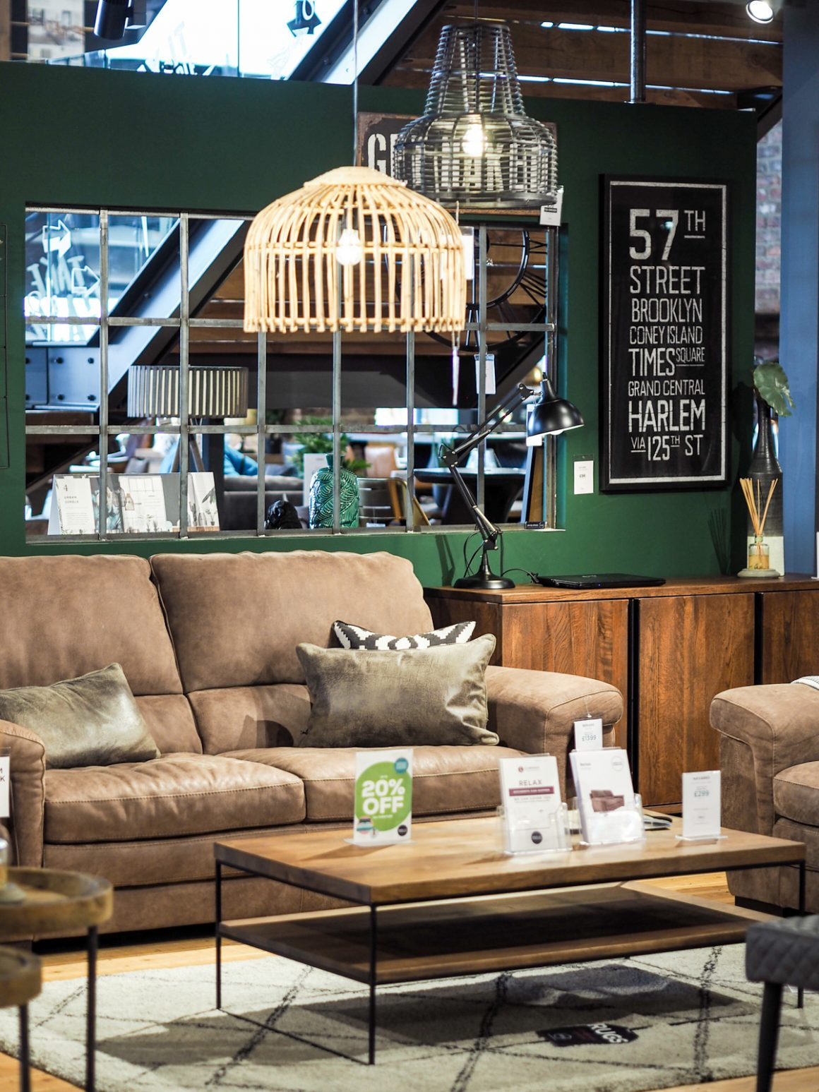 Urban interior inspiration at Barker and Stonehouse in Leeds