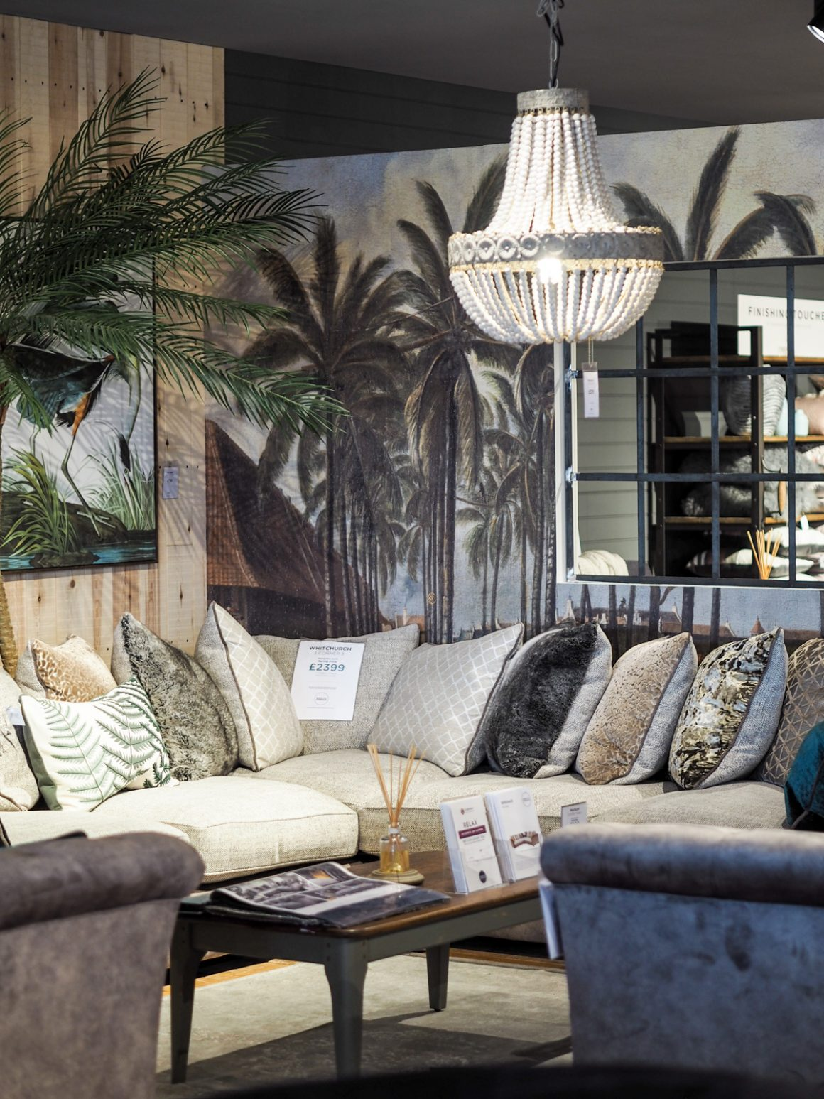 Glamorous luxe interior inspiration at Barker and Stonehouse Leeds