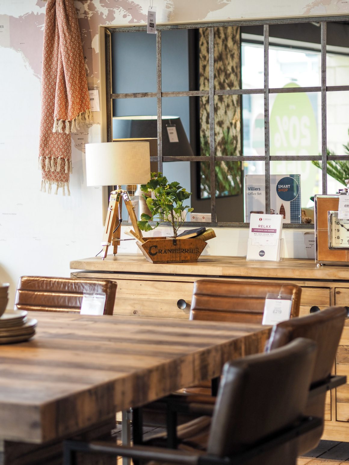 Industrial interior inspiration at Barker and Stonehouse in Leeds