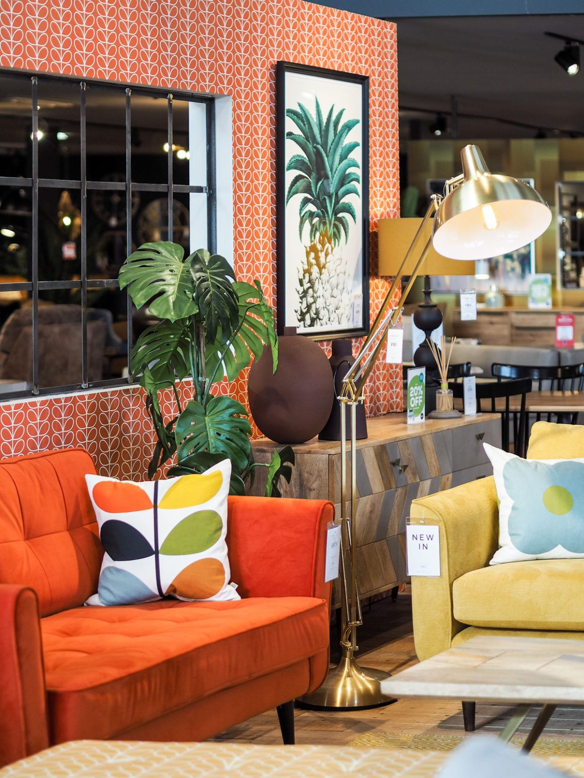 Orla Kiely at Barker and Stonehouse in Leeds