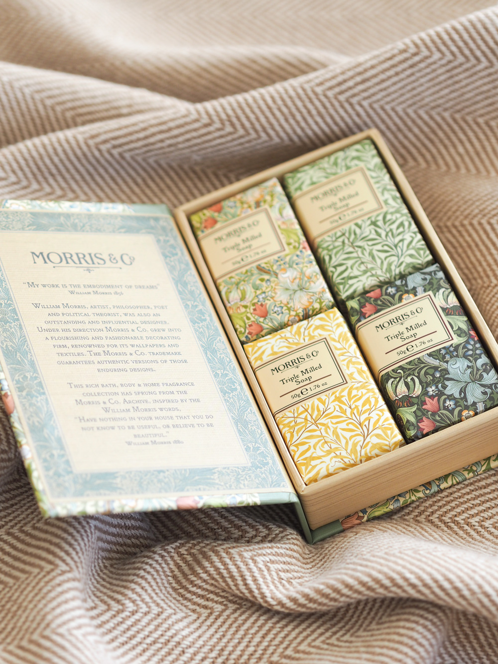 Morris & Co soaps from Studio.co.uk, the home of affordable interiors