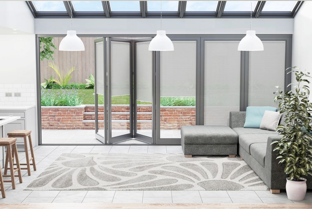 How to decorate around bi-fold doors
